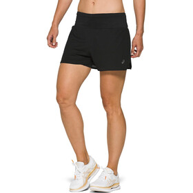 "asics Ventilate 2-N-1 3,5"" Shorts Dames, performance black"